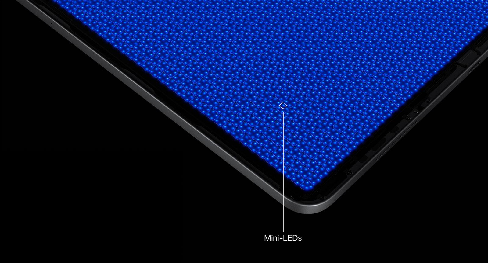 miniLED en el iPad Pro