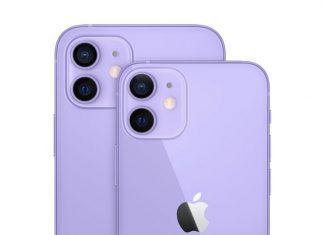 iPhone 12 de color morado