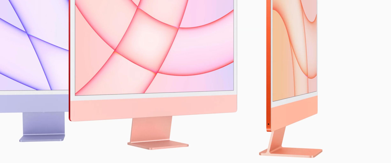 iMac Apple Silicon, de colores, con M1, en el 2021