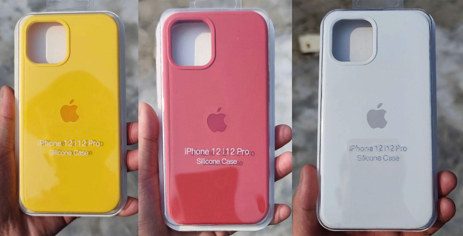 Filtración fundas iPhone 12 primavera 2021