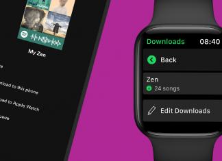 Spotify en el Apple Watch
