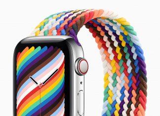 Braided Solo Loop Pride Edition para el Apple Watch