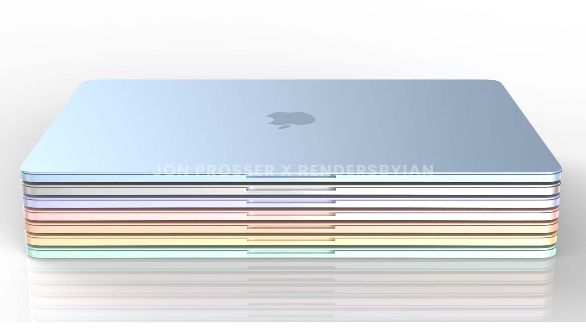 Concepto de diseño de Macbook Air del 2021