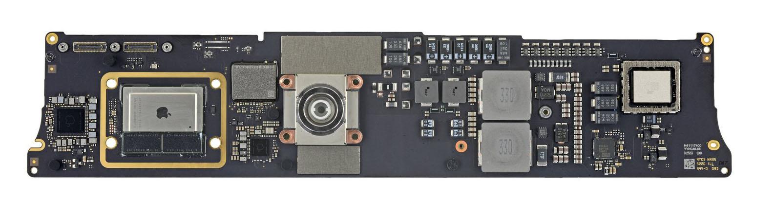 Placa base de un iMac con M1