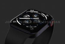 Concepto de diseño de Apple Watch Series 7