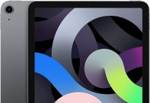 iPad Air de cuarta generación en color negro
