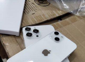 Maqueta del supuesto iPhone 13