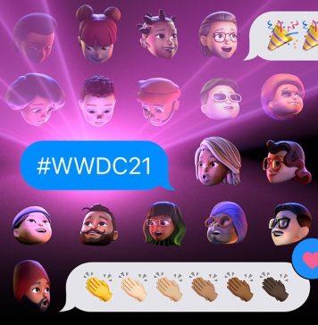Memojis en la WWDC 2021