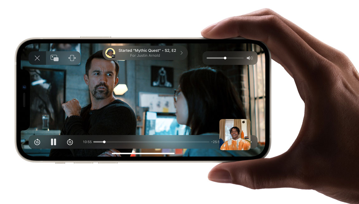 FaceTime en iOS 15