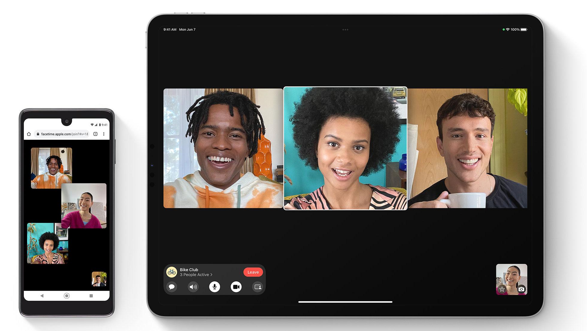 Llamadas de FaceTime en Android o Windows