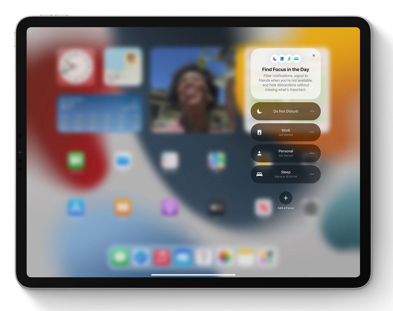 Focus en el iPad