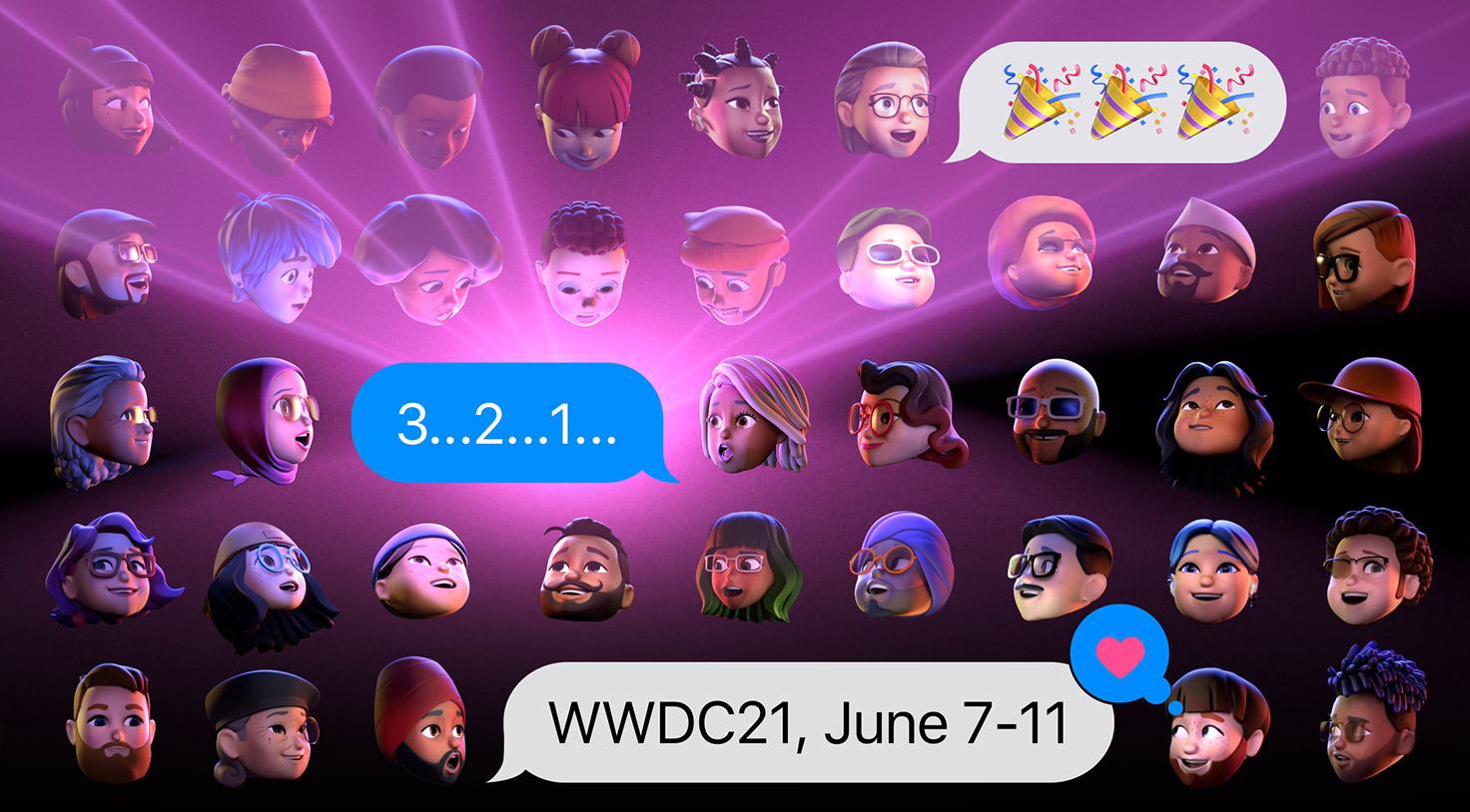 Emojis de desarrolladores esperando la WWDC 2021