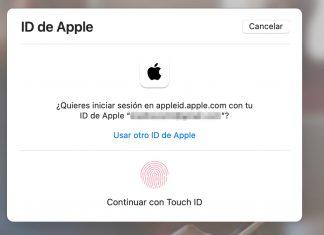 Acceso a una cuenta de Apple
