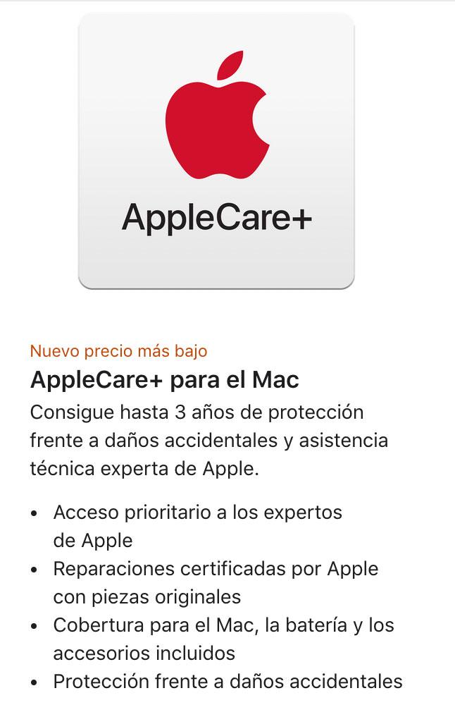 Apple Care+ rebajado en España