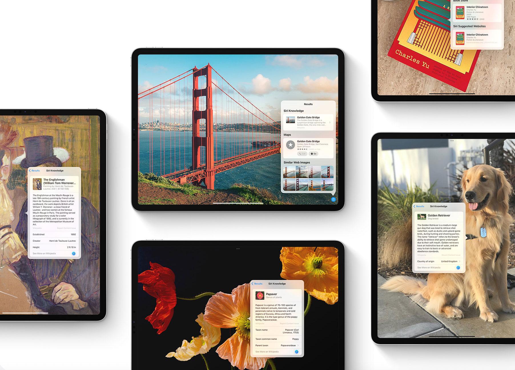 Reconocimiento de imágenes utilizado en el iPad para encontrar información sobre lugares famosos y otros