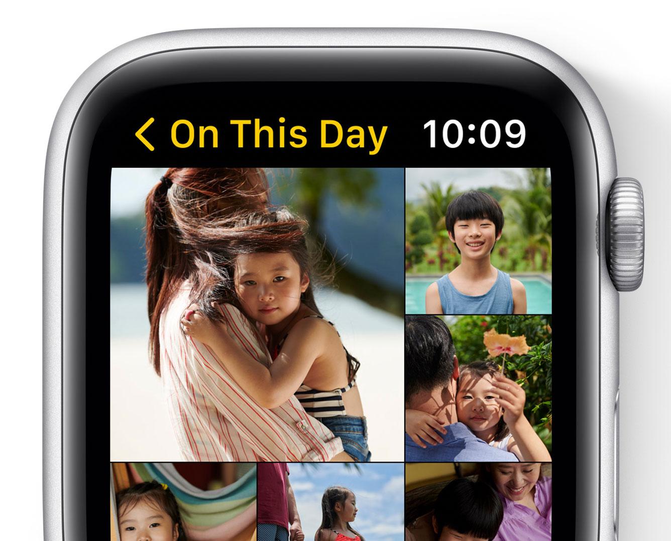 Recuerdos de fotos en watchOS 8