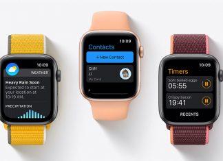 Apple Watch series 6 con watchOS 8