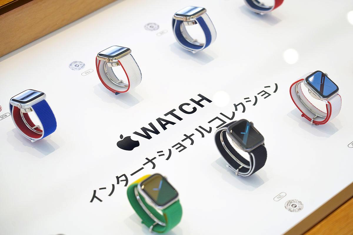 Colección internacional de correas deportivas para el Apple Watch con motivo de los Juegos Olímpicos de Tokio 2020