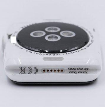 Prototipo de Apple Watch Series 0 con caja hecha de cerámica