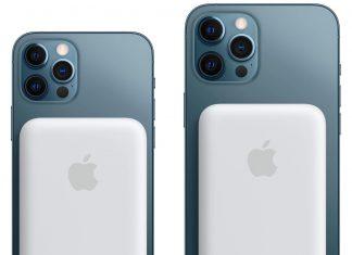 MagSafe Battery Pack en un iPhone 12 Pro