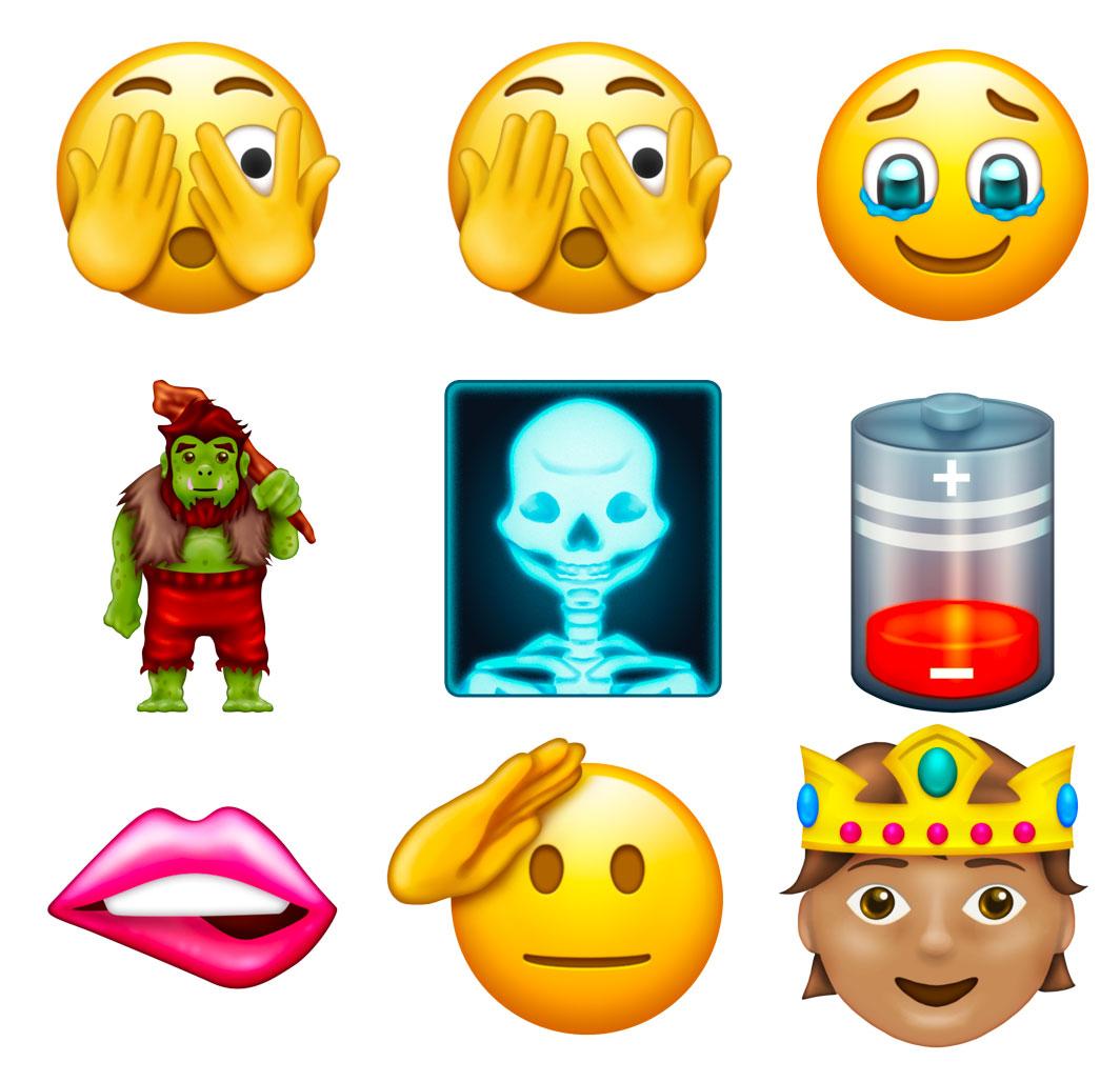 Emojis 14.0 septiembre 2021