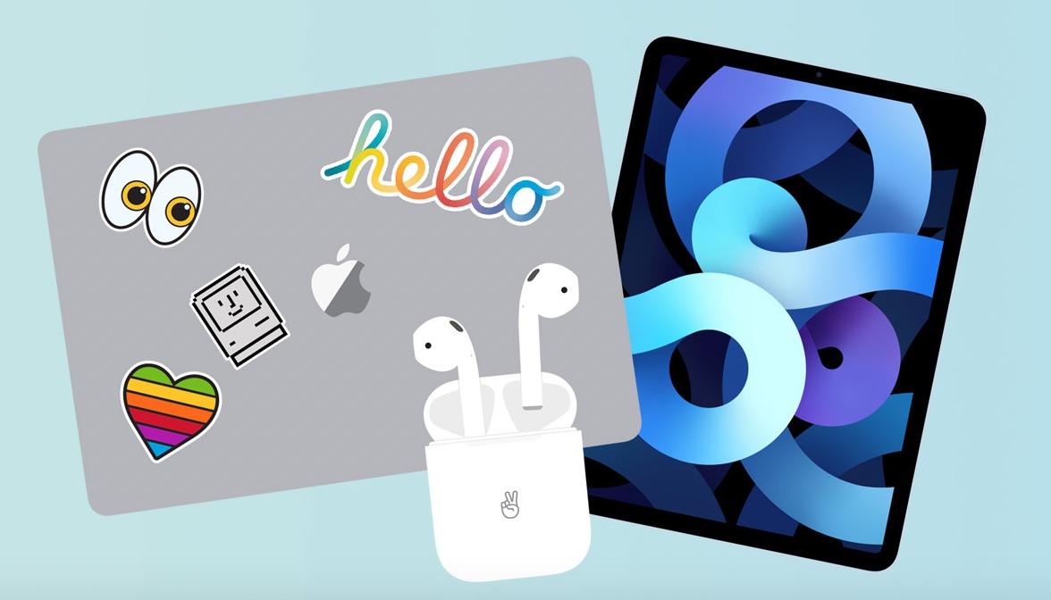 MacBook, AirPods e iPad Air 4