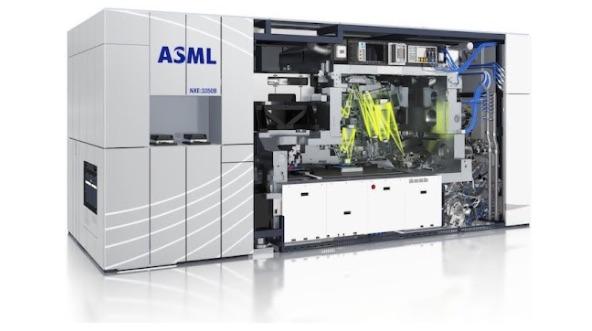 Máquina litografiadora de chips de ASML