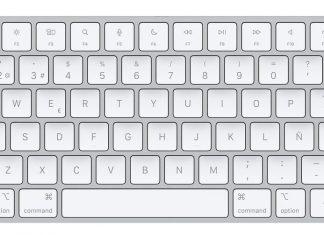 Magic Keyboard con Touch ID en color plateado