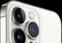 iPhone 13 Pro en blanco
