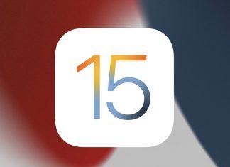 Logo de iOS 15