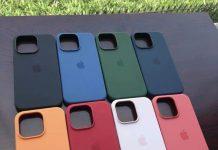 Supuestas fundas del iPhone 13