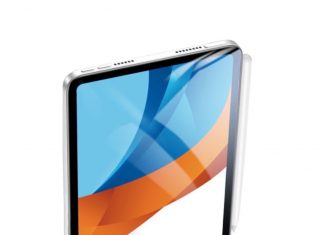 Supuesto iPad mini con diseño todo pantalla