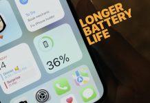 Más duración de batería en el iPhone 13