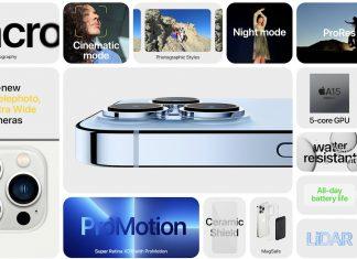 Resumen de novedades del iPhone 13 Pro