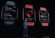 Tim Cook en la presentación del Apple Watch Series 7
