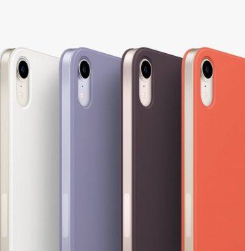 iPad mini 6 con sus fundas de colores