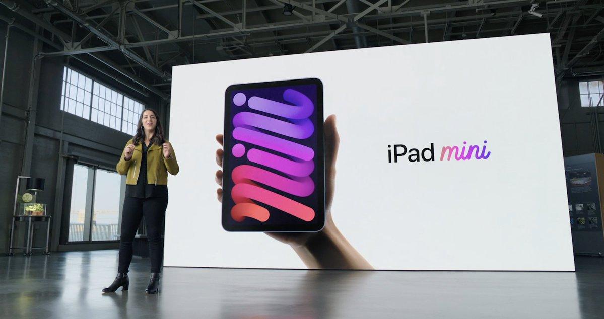 Presenatción del iPad mini 6