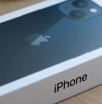 Nuevo iPhone 13 en su caja