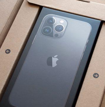 iPhone 13 Pro Max en su caja