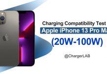 Test de carga de batería del iPhone 13