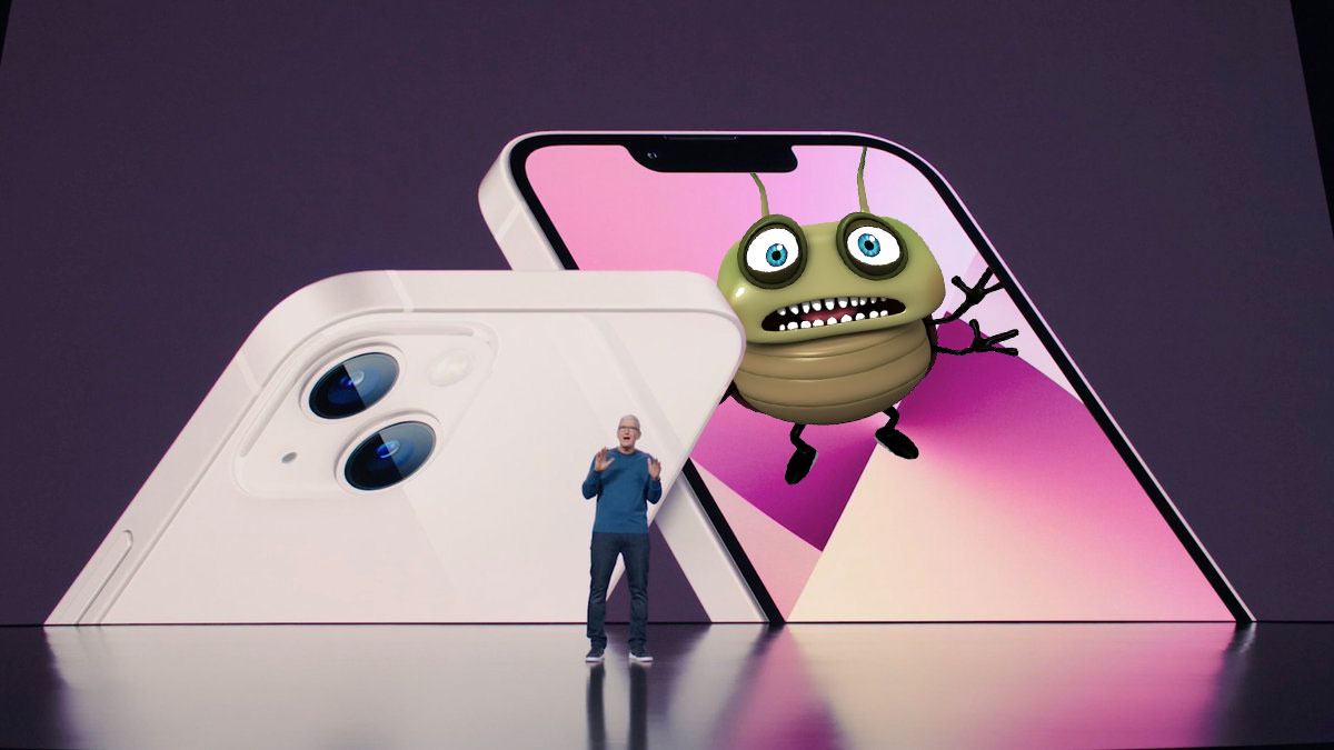 Bug en el iPhone 13