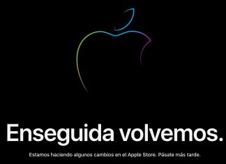 Apple Store cerrada - Enseguida volvemos