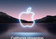 Invitación evento presentación iPhone 13