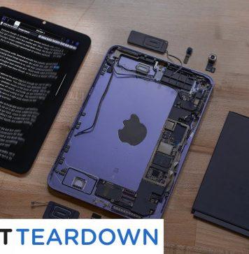 iPad mini por dentro y el efecto goma de la pantalla