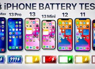 Test de baterías entre el iPhone 13, 12, 11 y SE