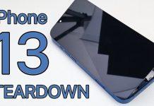 Desmontando el iPhone 13