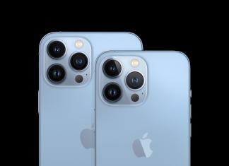 iPhone 13 en azul