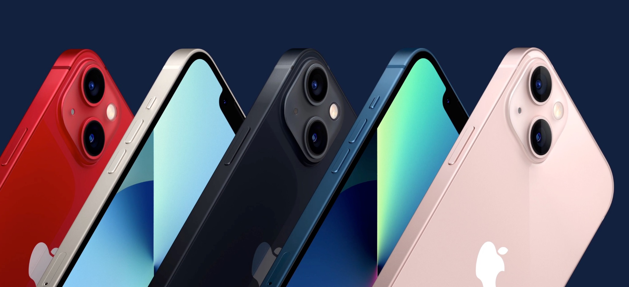 Colores del iPhone 13