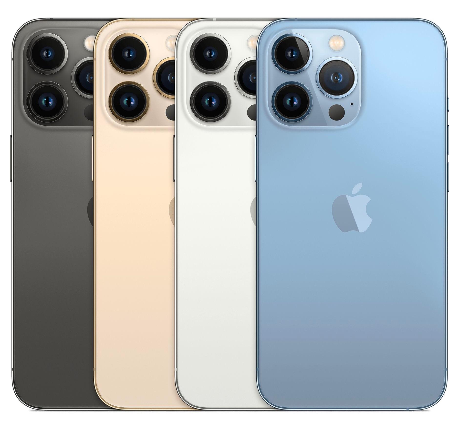 iPhone 13 Pro en todos sus colores