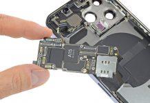 Placa base o logic board del iPhone 13 Pro con el A15